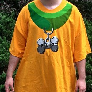NWT Authentic Disneyland 2XL Pluto Costume T-shirt